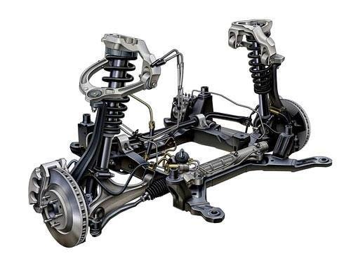 汽车悬架_汽车悬架系统组成_汽车悬架系统的组成